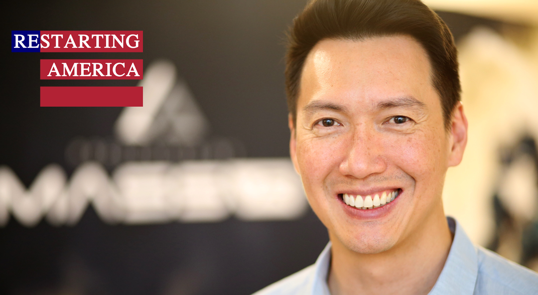 MassVR's Chris Lai Featured On Restarting America Podcast